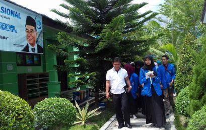 Mahasiswa FKIP UMSU Observasi Manajemen Pendidikan ke SMK Negeri 1 Beringin