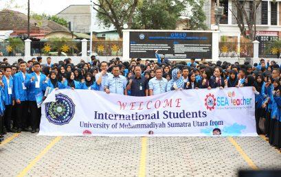 608 Mahasiswa FKIP Ikuti Magang I; Rektor Terima Pertukaran Mahasiswa se-Asia Tenggara