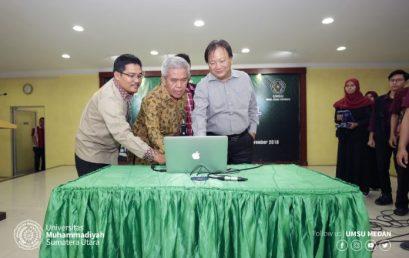 UMSU Luncurkan Perpustakaan Digital
