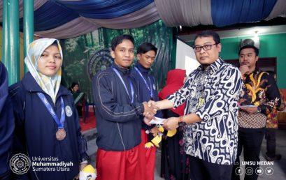 UMSU Beri Apresiasi Untuk Lima Atlet Pencak Silat Berprestasi
