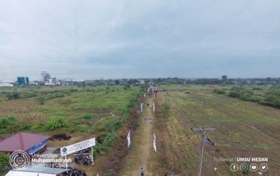 Lahan Kampus Terpadu UMSU Jadi Model Hutan Serbaguna