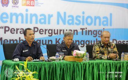 UMSU Tuan Rumah Seminar Nasional Membangun Ketangguhan Desa Hadapi Bencana