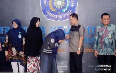 UMSU Berikan Beasiswa Kepada Mahasiswa Korban Gempa Palu