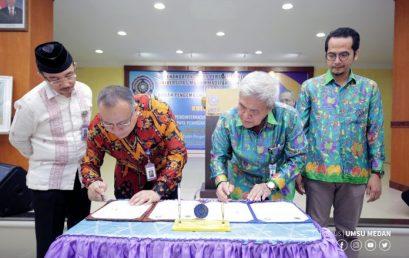 UMSU – Badan Bahasa Kemendikbud Jalin Kerjasama