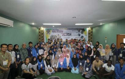 "LKUI UMSU Gelar ""Training Volunteer in Action"""