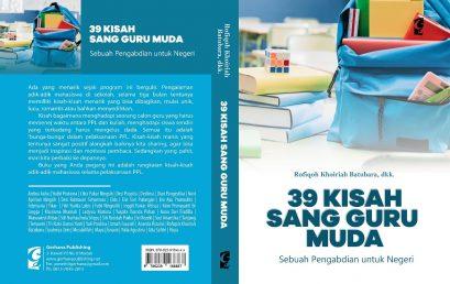 Alumni FKIP UMSU Terbitkan Buku '39 Kisah Sang Guru Muda'