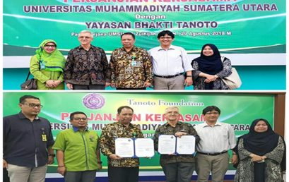 Perjanjian Kerja Sama UMSU dengan Yayasan Bhakti Tanoto