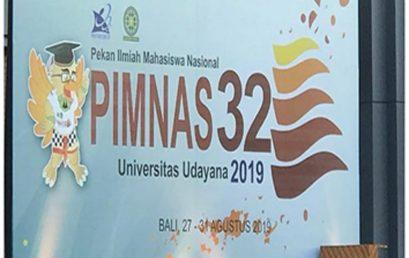 Pembukaan Pekan Ilmiah Mahasiswa Indonesia Ke- 32 si Universitas Udayana Bali