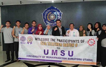 Mahasiswa Fkip Umsu Program Ikuti Sea Teacher Batch 8