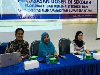 Dosen FKIP, Narasumber Seminar Hasil Penugasan Dosen di Sekolah
