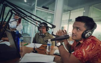 Diskusi Animo Masyarakat terhadap FKIP UMSU Melalui Siaran di Produa FM