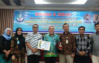 Rangkaian Kegiatan Penguatan Kepala Sekolah Sumatera Utara